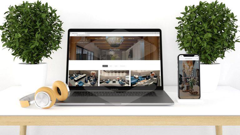 Website Development for Interior Design Studio