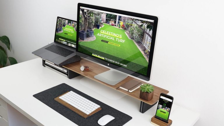 Website Development, Logo Design & Advertising for Artificial Turf Company