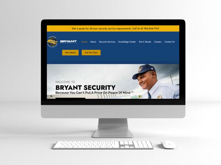 Security Company (Website Design, Web Development, Copywriting, SEO, PPC)