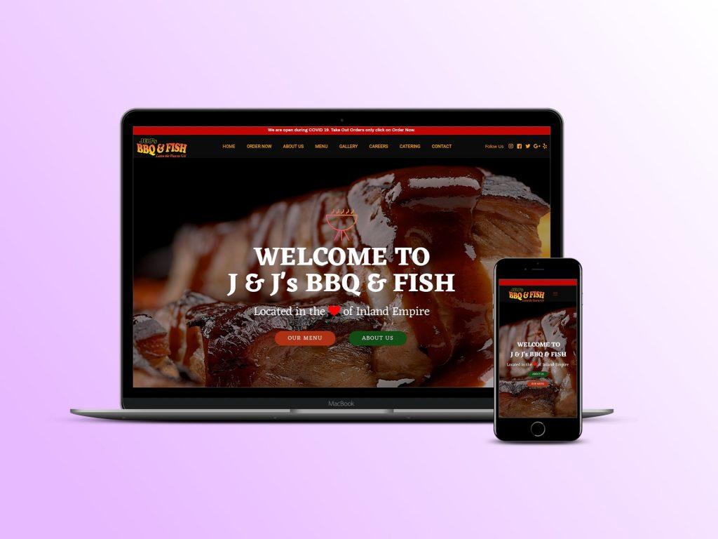 Website Development for Barbeque Restaurant
