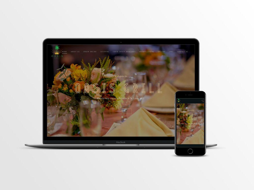 Website Development for Restaurant